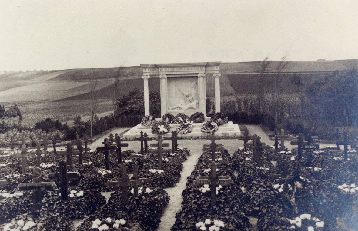Vue générale du monument
